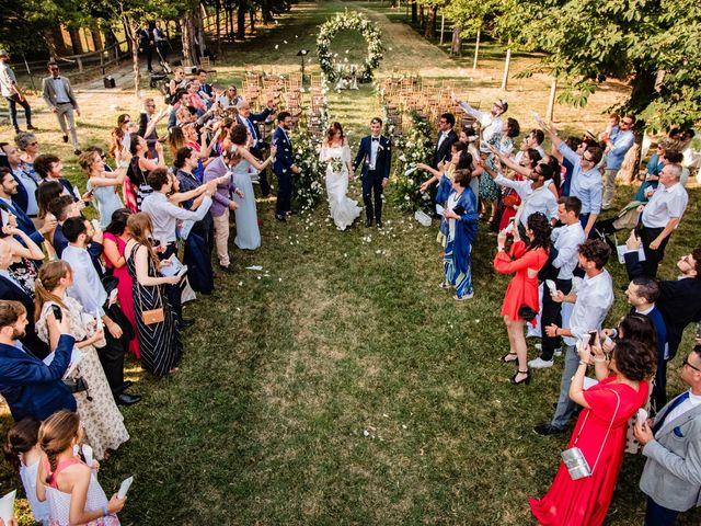 Il matrimonio di Rifat e Chiara a Penango, Asti 29