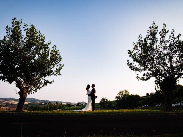 Il matrimonio di Rifat e Chiara a Penango, Asti 33