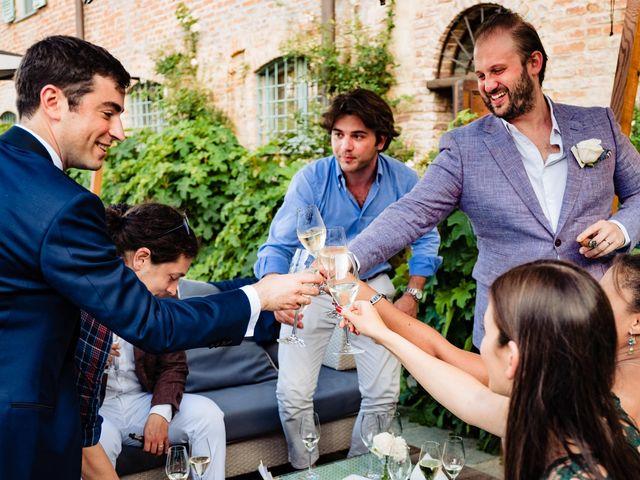 Il matrimonio di Rifat e Chiara a Penango, Asti 36