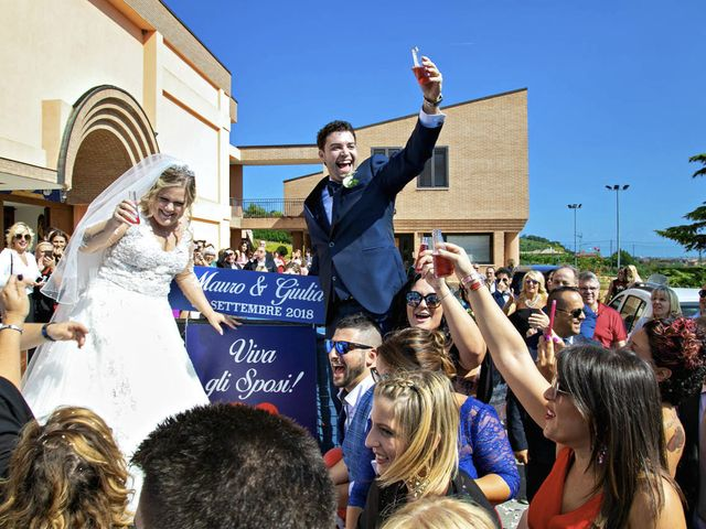 Il matrimonio di Mauro e Giulia a Monteprandone, Ascoli Piceno 31