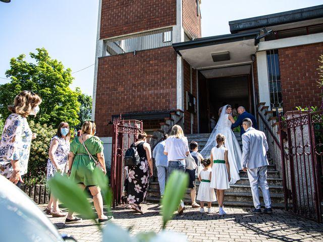 Il matrimonio di Marco e Federica a Paderno Dugnano, Milano 74