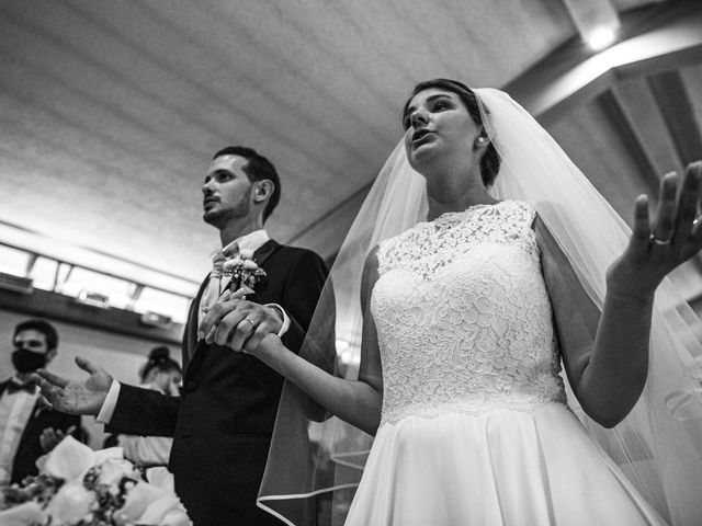 Il matrimonio di Marco e Federica a Paderno Dugnano, Milano 83