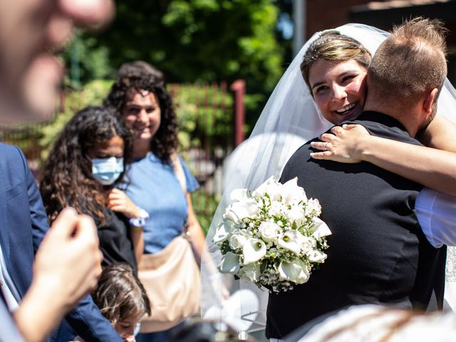 Il matrimonio di Marco e Federica a Paderno Dugnano, Milano 85