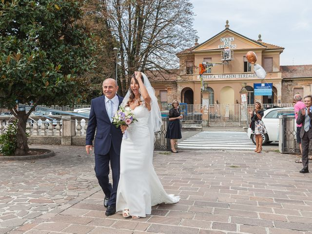 Il matrimonio di Giuseppe e Valentina a Casalpusterlengo, Lodi 11