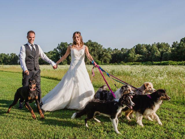 Il matrimonio di Mattia Momesso e Serena Reggiani a Ormelle, Treviso 22