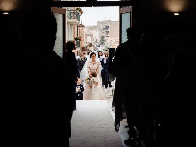 Il matrimonio di Paolo e Letizia a Montescaglioso, Matera 17