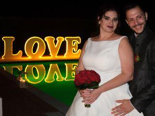 Le nozze di Dorothy e Cristian