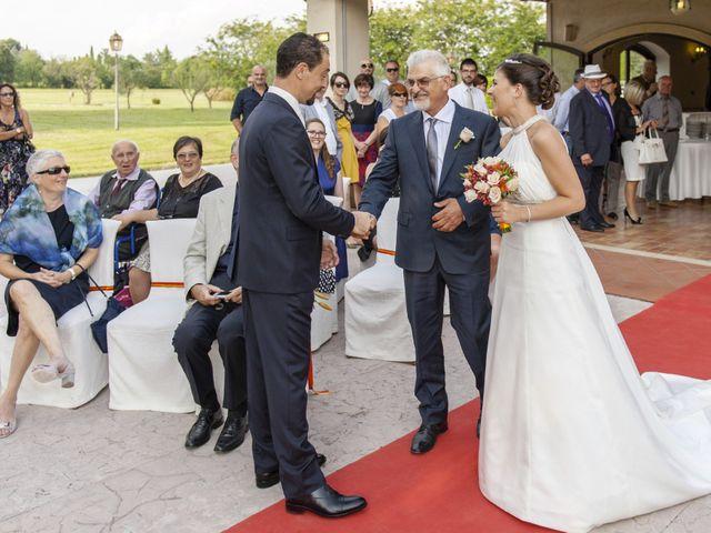 Il matrimonio di Elena e Luca a San Giorgio Bigarello, Mantova 14
