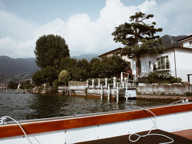 Il matrimonio di Tiberio e Laura a Monte Isola, Brescia 17
