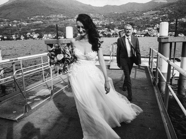 Il matrimonio di Tiberio e Laura a Monte Isola, Brescia 18