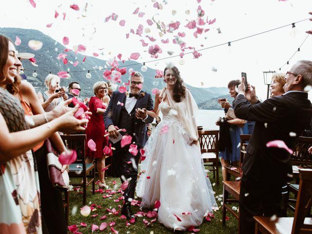 Il matrimonio di Tiberio e Laura a Monte Isola, Brescia 23