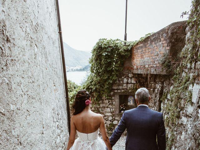 Il matrimonio di Tiberio e Laura a Monte Isola, Brescia 26