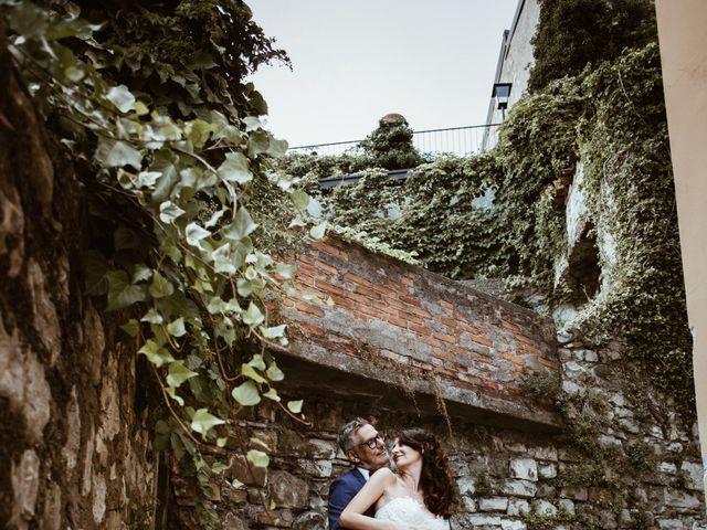 Il matrimonio di Tiberio e Laura a Monte Isola, Brescia 28