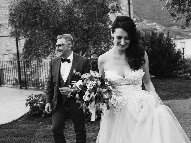 Il matrimonio di Tiberio e Laura a Monte Isola, Brescia 30