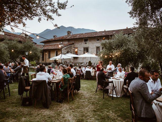 Il matrimonio di Tiberio e Laura a Monte Isola, Brescia 34