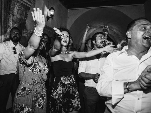 Il matrimonio di Tiberio e Laura a Monte Isola, Brescia 37
