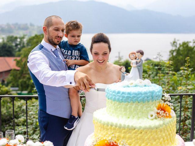Il matrimonio di Elia e Francesca a Nebbiuno, Novara 63