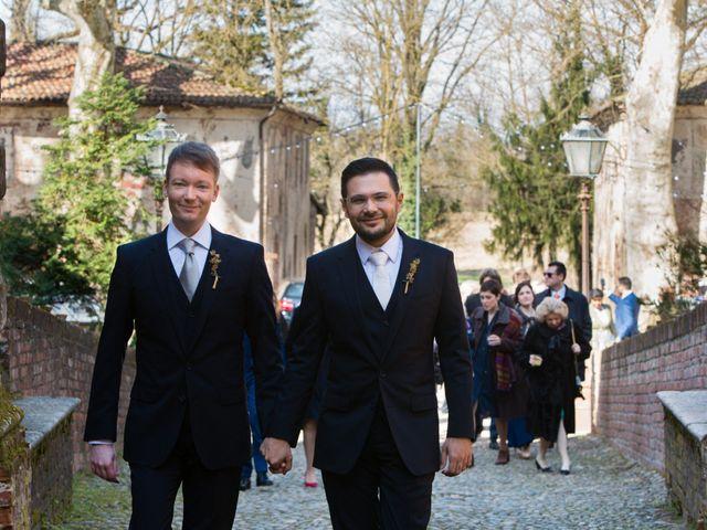 Il matrimonio di Salvatore e Alberto a Piovera, Alessandria 4