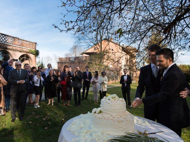 Il matrimonio di Salvatore e Alberto a Piovera, Alessandria 31
