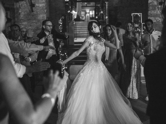 Il matrimonio di Francesco e Nicole a Collebeato, Brescia 107