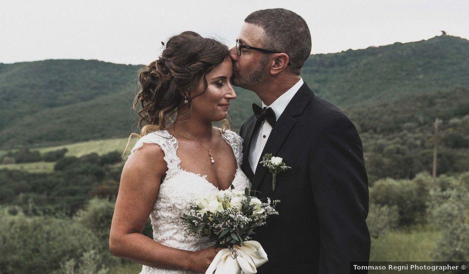 Il matrimonio di John e Rachel a Panicale, Perugia