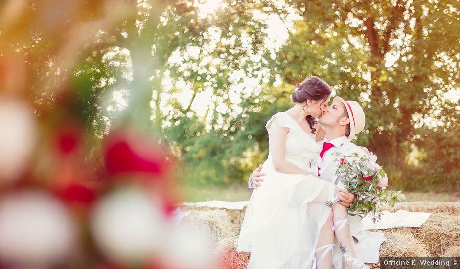 Il matrimonio di Giulio e Sara a Rieti, Rieti