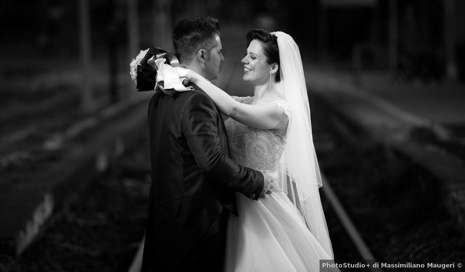 Il matrimonio di Angelo e Dalila a Scordia, Catania