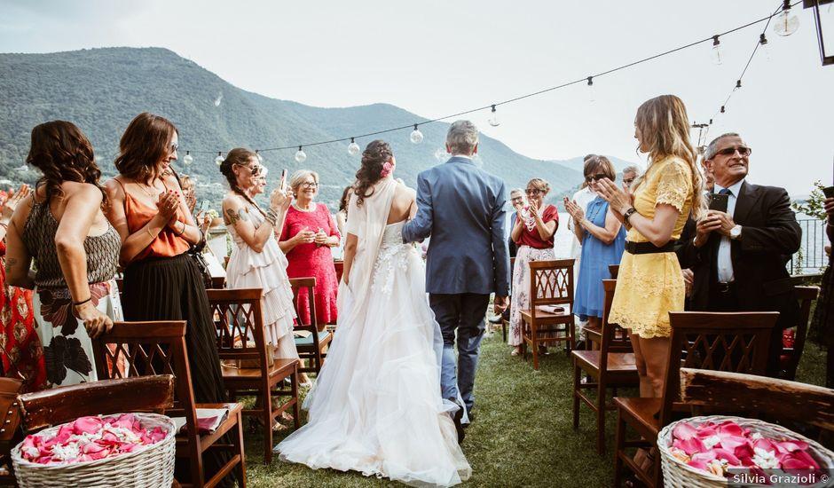 Il matrimonio di Tiberio e Laura a Monte Isola, Brescia