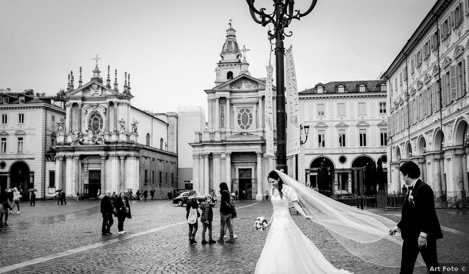 Il matrimonio di Patrick e Elena a Torino, Torino