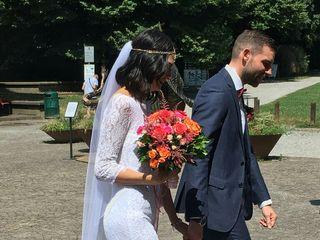 Le nozze di Annie Vieira e Filippo Ripamonti 1