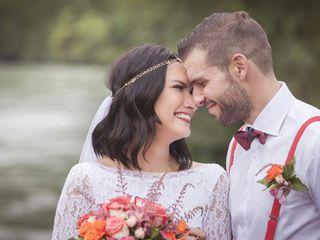 Le nozze di Annie Vieira e Filippo Ripamonti