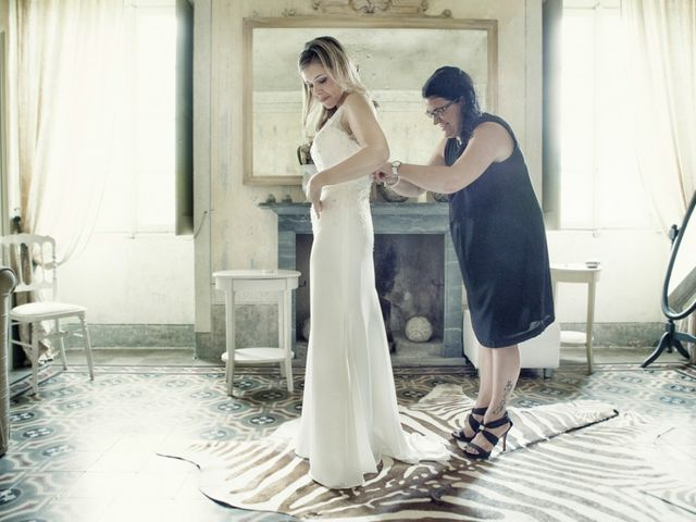 Il matrimonio di Til e Elena a Laglio, Como 17