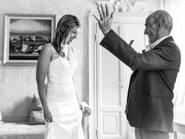 Il matrimonio di Til e Elena a Laglio, Como 20