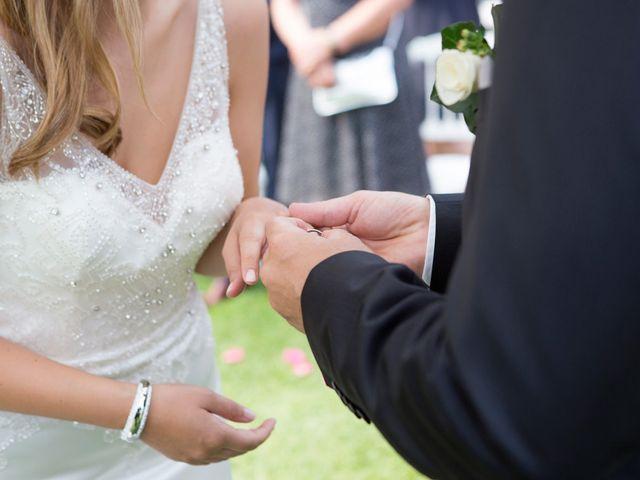 Il matrimonio di Til e Elena a Laglio, Como 35