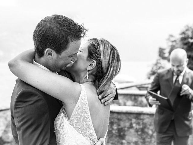 Il matrimonio di Til e Elena a Laglio, Como 40