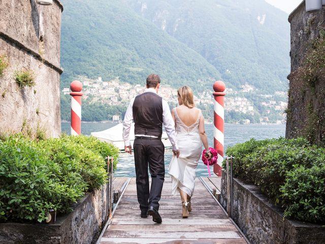 Il matrimonio di Til e Elena a Laglio, Como 45