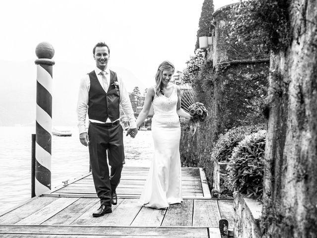Il matrimonio di Til e Elena a Laglio, Como 47