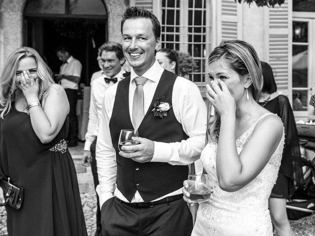 Il matrimonio di Til e Elena a Laglio, Como 54