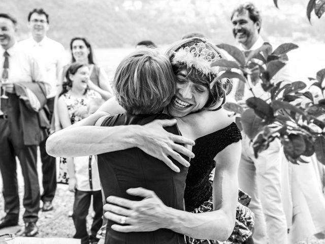 Il matrimonio di Til e Elena a Laglio, Como 55