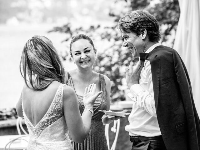 Il matrimonio di Til e Elena a Laglio, Como 58