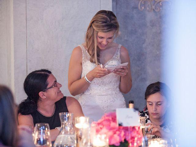 Il matrimonio di Til e Elena a Laglio, Como 61