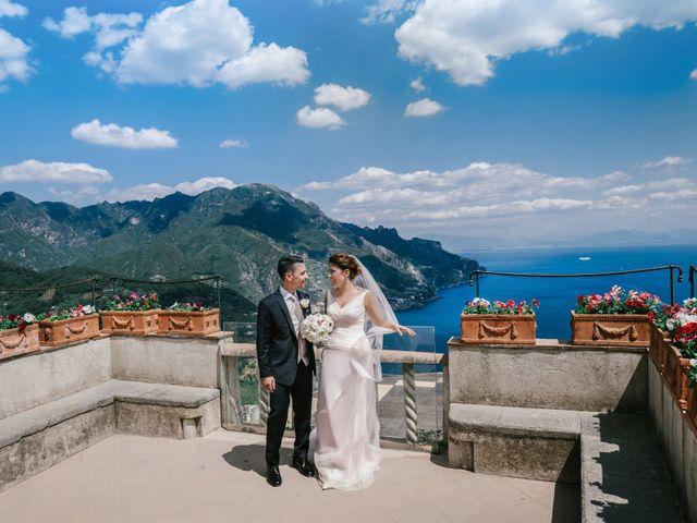 Il matrimonio di Biagio e Gabriella a Ravello, Salerno 27
