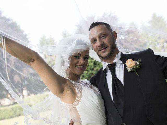le nozze di Madalina e Angelo