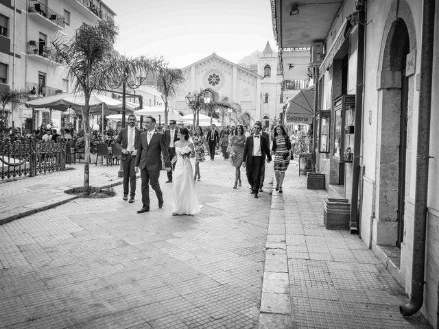 Il matrimonio di Michele e Cinzia a Taormina, Messina 21