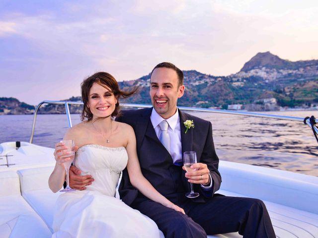 Il matrimonio di Michele e Cinzia a Taormina, Messina 27