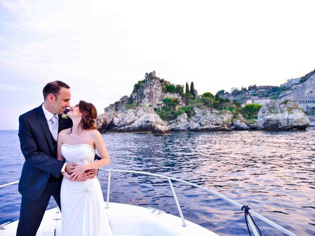 Il matrimonio di Michele e Cinzia a Taormina, Messina 1