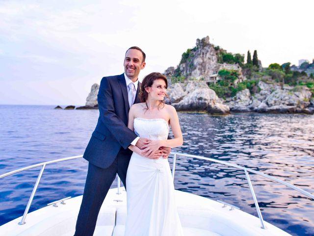 Il matrimonio di Michele e Cinzia a Taormina, Messina 2