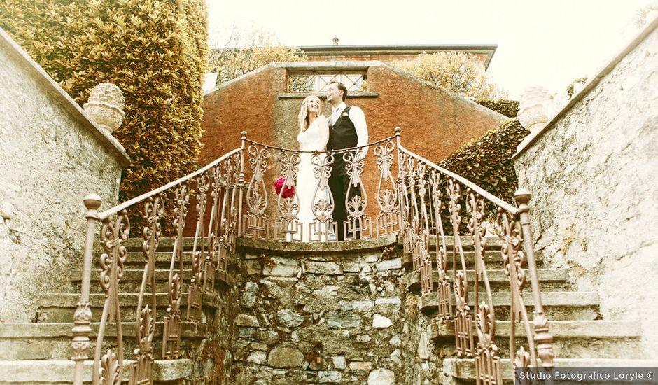 Il matrimonio di Til e Elena a Laglio, Como