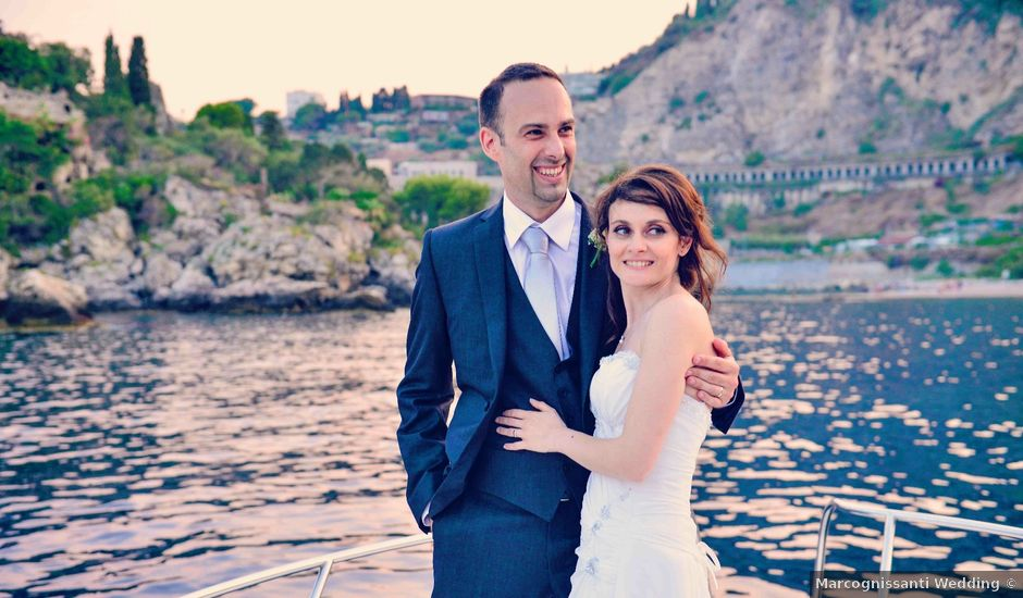 Il matrimonio di Michele e Cinzia a Taormina, Messina