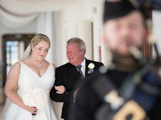 le nozze di Gillian e Steven 1